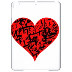 Valentine Hart Apple Ipad Pro 9 7   Hardshell Case