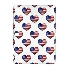 Usa Grunge Heart Shaped Flag Pattern Galaxy Note 1