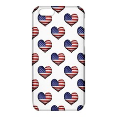 Usa Grunge Heart Shaped Flag Pattern iPhone 6/6S TPU Case