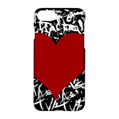Red Valentine Apple Iphone 7 Hardshell Case