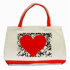 Red Valentine 2 Classic Tote Bag (red)