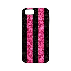 STR1 BK-PK MARBLE Apple iPhone 5 Classic Hardshell Case (PC+Silicone)