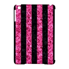 STR1 BK-PK MARBLE Apple iPad Mini Hardshell Case (Compatible with Smart Cover)