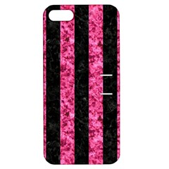 STR1 BK-PK MARBLE Apple iPhone 5 Hardshell Case with Stand