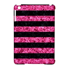 STR2 BK-PK MARBLE Apple iPad Mini Hardshell Case (Compatible with Smart Cover)