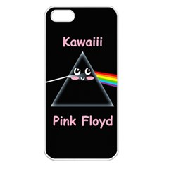 Cute pink floyd  Apple iPhone 5 Seamless Case (White)