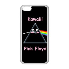 Cute pink floyd  Apple iPhone 5C Seamless Case (White)