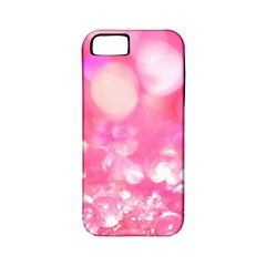 Cute pink transparent diamond  Apple iPhone 5 Classic Hardshell Case (PC+Silicone)