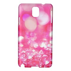 Cute pink transparent diamond  Samsung Galaxy Note 3 N9005 Hardshell Case