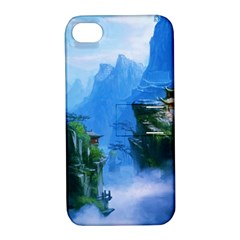 Fantasy nature  Apple iPhone 4/4S Hardshell Case with Stand