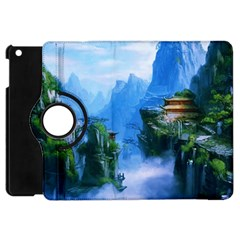 Fantasy traditional nature  Apple iPad Mini Flip 360 Case
