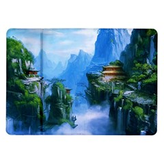 Fantasy traditional nature  Samsung Galaxy Tab 10.1  P7500 Flip Case