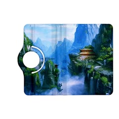 Fantasy traditional nature  Kindle Fire HD (2013) Flip 360 Case