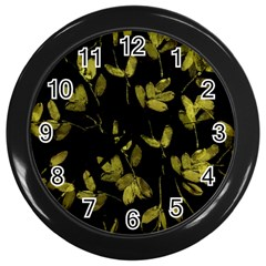 Leggings Wall Clocks (Black)