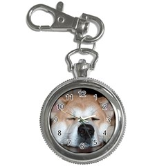 Akita Sleeping Key Chain Watches
