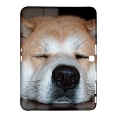 Akita Sleeping Samsung Galaxy Tab 4 (10.1 ) Hardshell Case