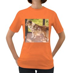 Australian Shepherd Red Merle Full Women s Dark T-Shirt