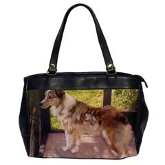 Australian Shepherd Red Merle Full Office Handbags