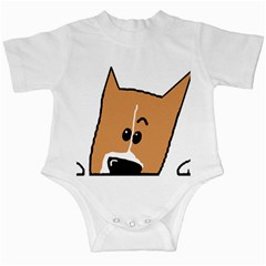 Peeping Basenji Infant Creepers