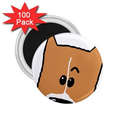 Peeping Basenji 2.25  Magnets (100 pack)