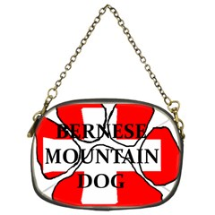 Ber Mt Dog Name Paw Switzerland Flag Chain Purses (One Side)