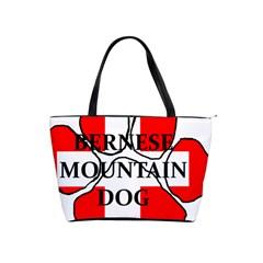 Ber Mt Dog Name Paw Switzerland Flag Shoulder Handbags