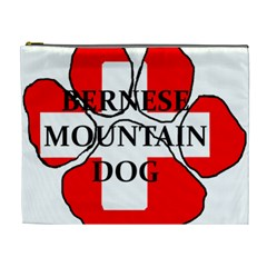 Ber Mt Dog Name Paw Switzerland Flag Cosmetic Bag (XL)