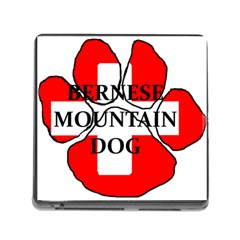 Ber Mt Dog Name Paw Switzerland Flag Memory Card Reader (Square)