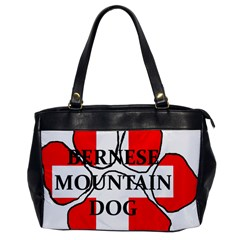 Ber Mt Dog Name Paw Switzerland Flag Office Handbags