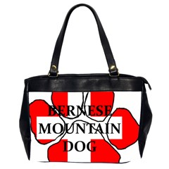 Ber Mt Dog Name Paw Switzerland Flag Office Handbags (2 Sides)
