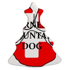Ber Mt Dog Name Paw Switzerland Flag Ornament (Christmas Tree)