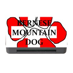 Ber Mt Dog Name Paw Switzerland Flag Memory Card Reader with CF