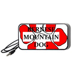Ber Mt Dog Name Paw Switzerland Flag Portable Speaker (Black)