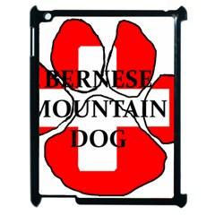 Ber Mt Dog Name Paw Switzerland Flag Apple iPad 2 Case (Black)