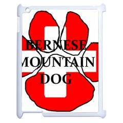 Ber Mt Dog Name Paw Switzerland Flag Apple iPad 2 Case (White)