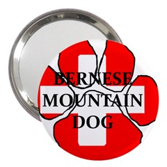Ber Mt Dog Name Paw Switzerland Flag 3  Handbag Mirrors