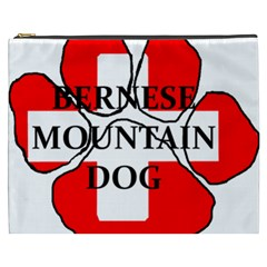 Ber Mt Dog Name Paw Switzerland Flag Cosmetic Bag (XXXL)