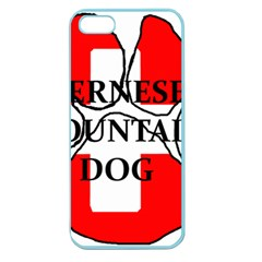 Ber Mt Dog Name Paw Switzerland Flag Apple Seamless iPhone 5 Case (Color)