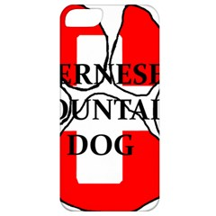 Ber Mt Dog Name Paw Switzerland Flag Apple iPhone 5 Classic Hardshell Case