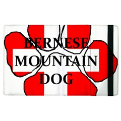 Ber Mt Dog Name Paw Switzerland Flag Apple iPad 3/4 Flip Case