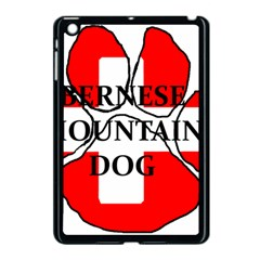 Ber Mt Dog Name Paw Switzerland Flag Apple iPad Mini Case (Black)