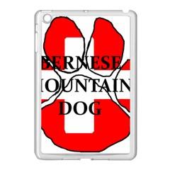 Ber Mt Dog Name Paw Switzerland Flag Apple iPad Mini Case (White)