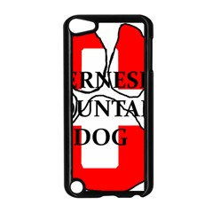 Ber Mt Dog Name Paw Switzerland Flag Apple iPod Touch 5 Case (Black)