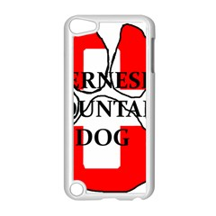 Ber Mt Dog Name Paw Switzerland Flag Apple iPod Touch 5 Case (White)