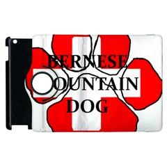 Ber Mt Dog Name Paw Switzerland Flag Apple iPad 2 Flip 360 Case