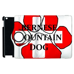 Ber Mt Dog Name Paw Switzerland Flag Apple iPad 3/4 Flip 360 Case