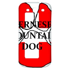 Ber Mt Dog Name Paw Switzerland Flag Samsung Galaxy S3 S III Classic Hardshell Back Case