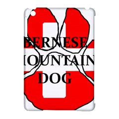 Ber Mt Dog Name Paw Switzerland Flag Apple iPad Mini Hardshell Case (Compatible with Smart Cover)