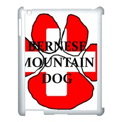 Ber Mt Dog Name Paw Switzerland Flag Apple iPad 3/4 Case (White)