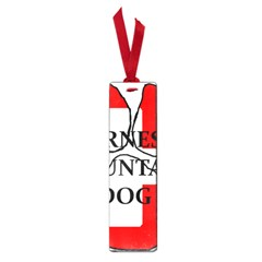 Ber Mt Dog Name Paw Switzerland Flag Small Book Marks